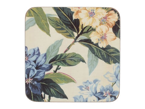 Creative Tops Traditional Floral Pack Of 6 Premium Coasters