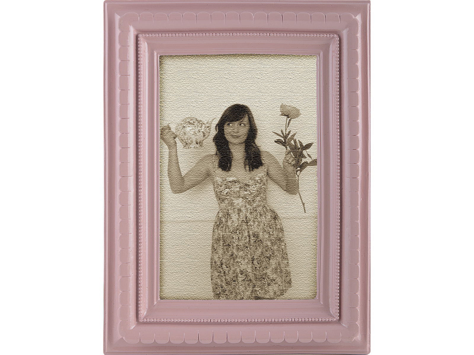 Katie Alice Rectangle Photo Frame Pink