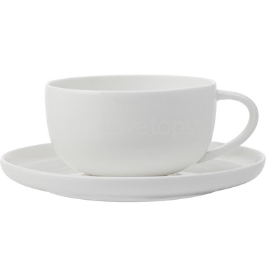 Maxwell & Williams Cashmere 300Ml High Rim Cup And Saucer