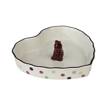 Katie Alice Highland Fling Pie Dish And Funnel Set