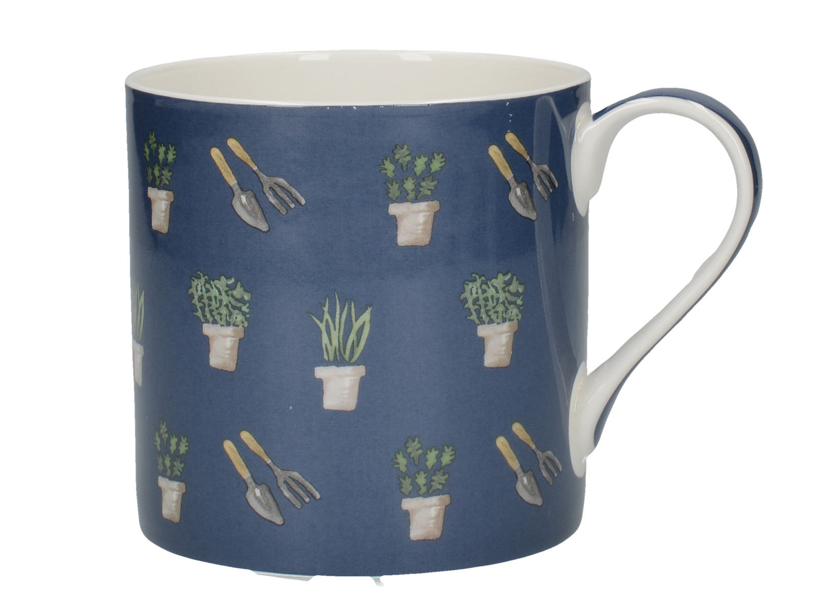 Creative Tops Bulb & Bloom Repeats Can Mug Navy