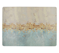 Creative Tops Golden Reflections Pack Of 4 Large Premium Placemats