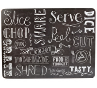 Everyday Home Chalkboard Pack Of 4 Placemats