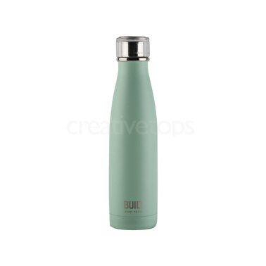 Built 17oz Double Walled Stainless Steel Water Bottle Mint