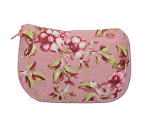 Katie Alice Ditsy Floral Cotton Foldaway Bag Pink