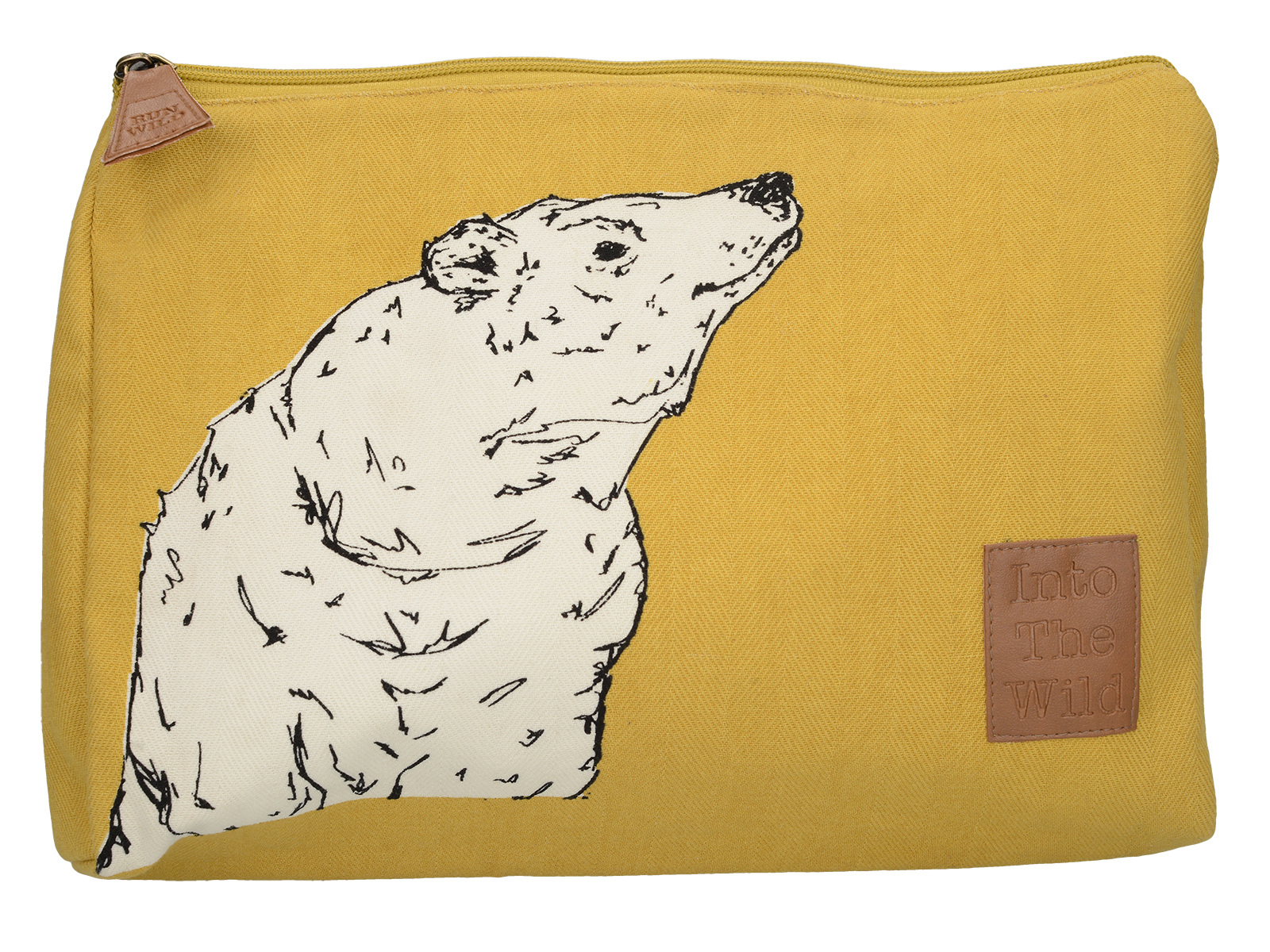 Creative Tops Into The Wild Bear Large Cosmetic Bag