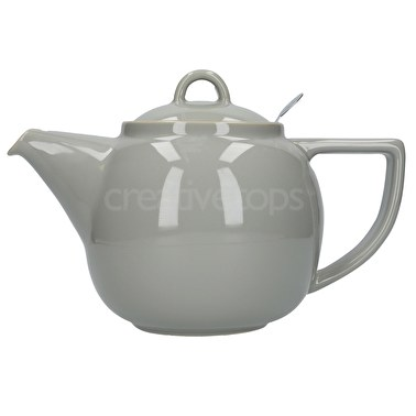 London Pottery Geo Filter 4 Cup Teapot Cobblestone