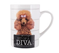 Creative Tops Bit Of Diva Tall Can Mug
