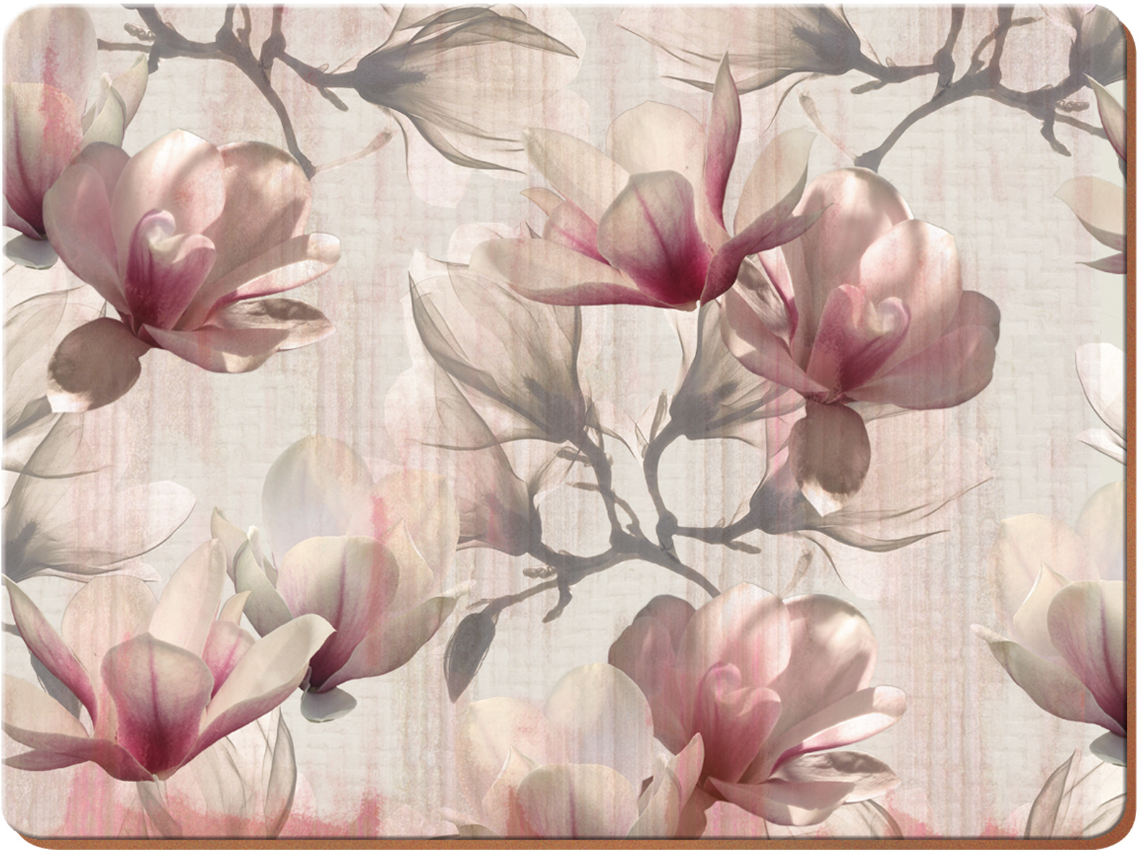 Creative Tops Magnolia Pack Of 6 Premium Placemats
