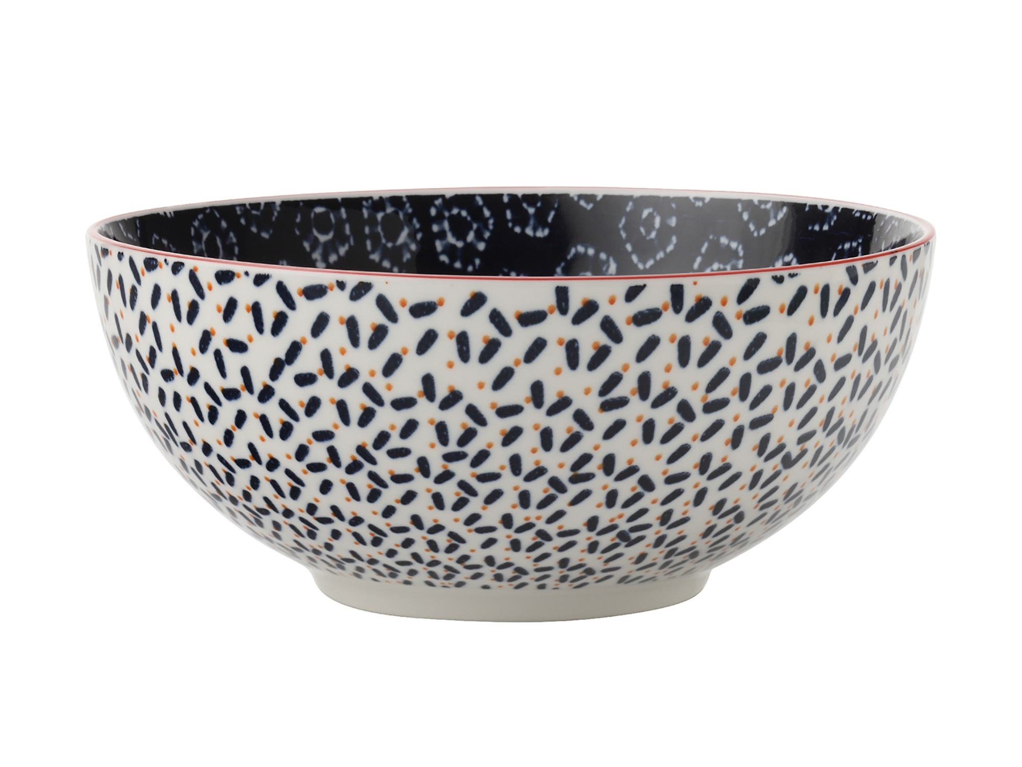 Maxwell & Williams Boho 18Cm Bowl Shibori Navy