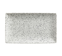 Maxwell & Williams Caviar Speckle 27.5Cm Rectangle Platter