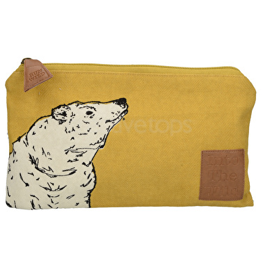 Creative Tops Into The Wild Bear Small Cosmetic Bag