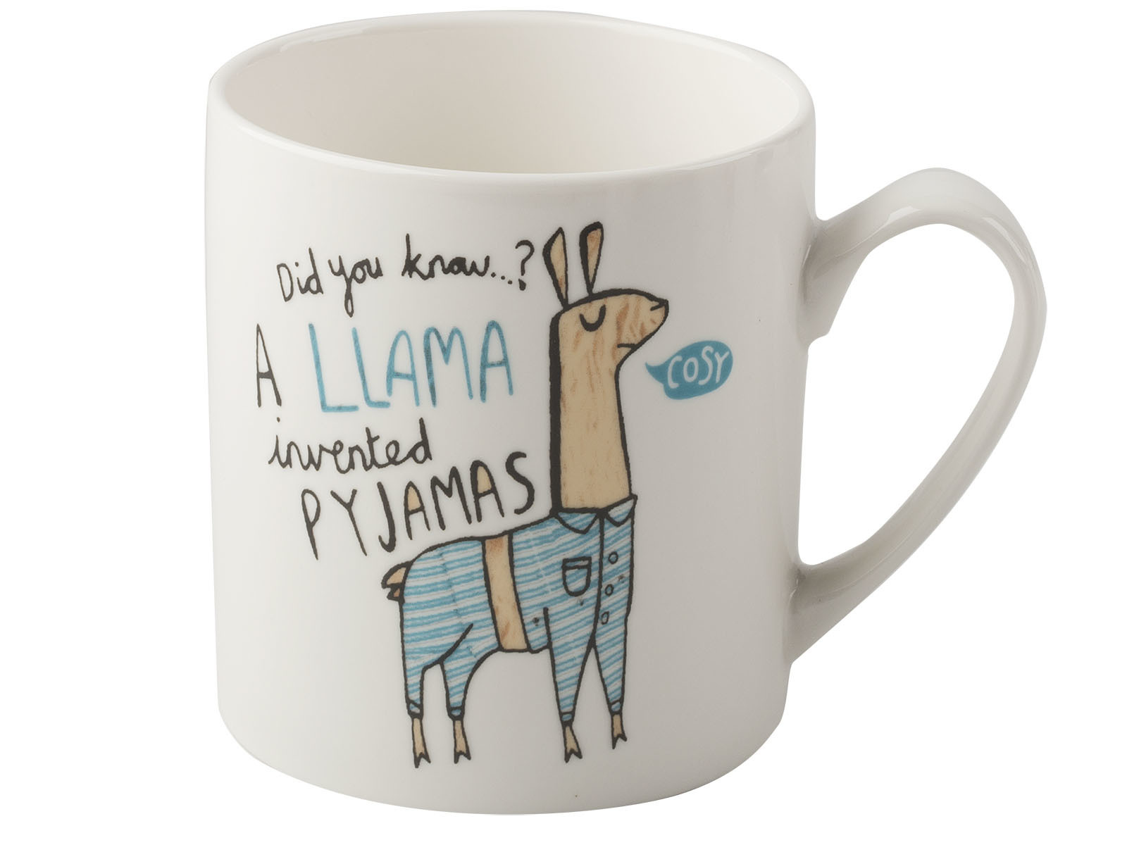 Everyday Home Llama Can Mug