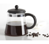 Randwyck Manhattan 1500ml Tea/coffee Pot With Black Lid