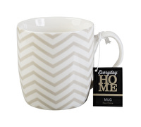 Everyday Home Geo Chevron Barrel Mug