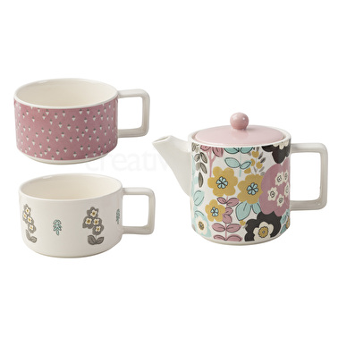 Katie Alice Pretty Retro Tea For Two Set