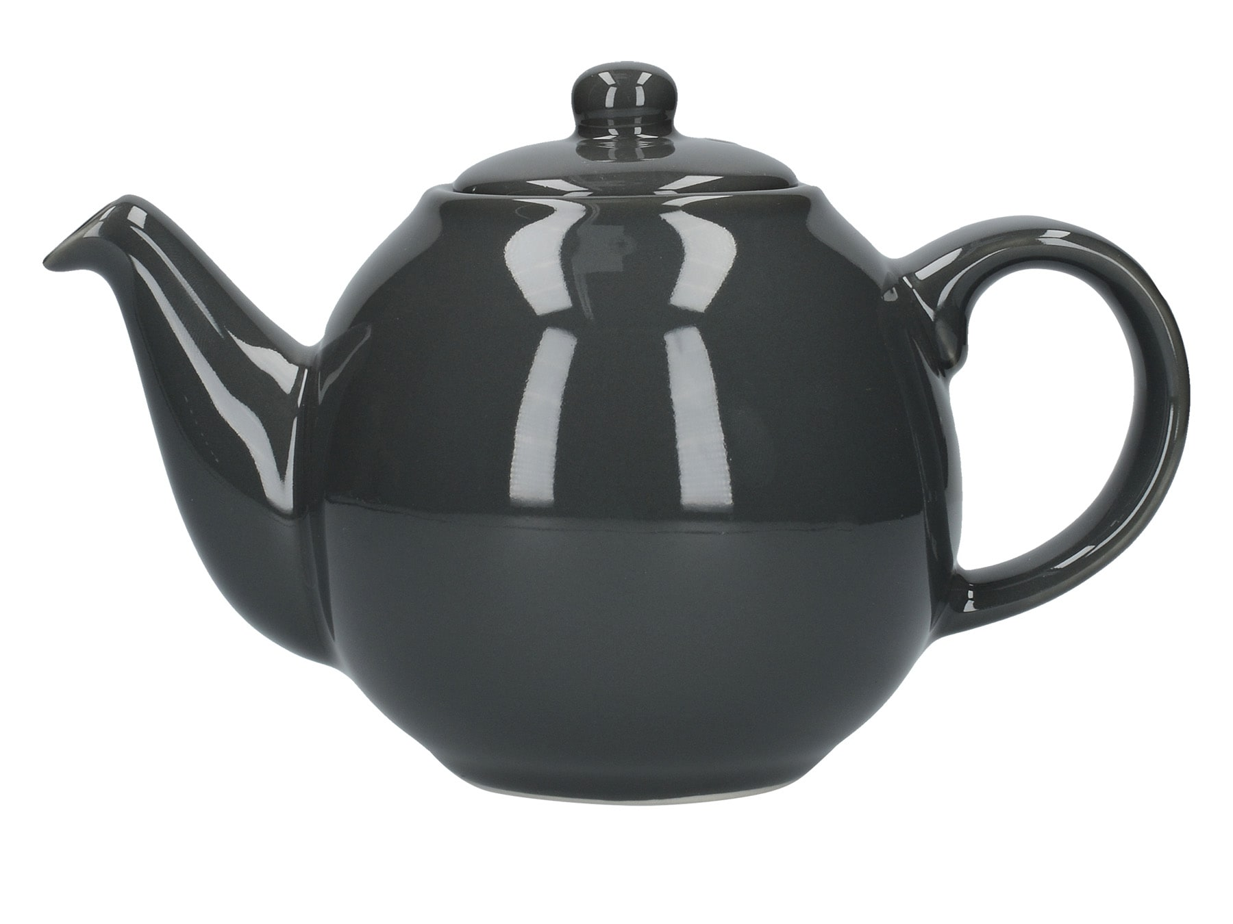 London Pottery Globe 2 Cup Teapot London Grey