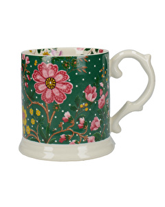 Photo of Katie Alice Eastern Flora Tankard Mug Green