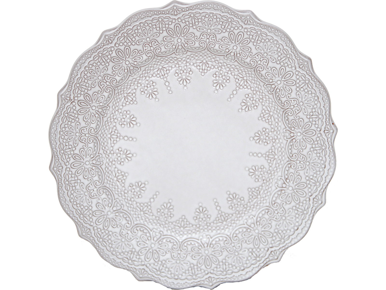 Katie Alice Lace Embossed Side Plate