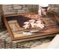 Creative Tops Labrador Puppies Laptray
