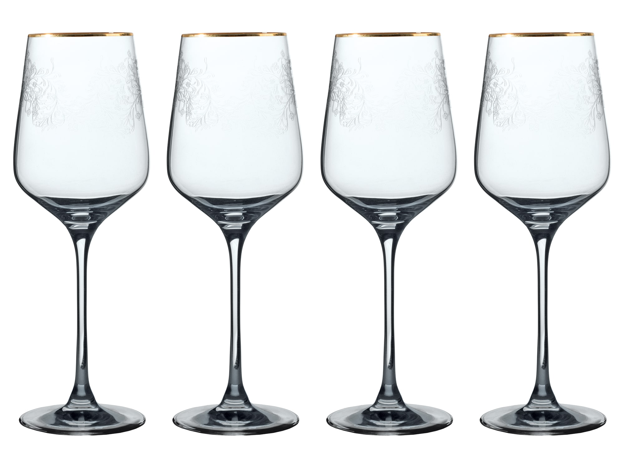 Victoria And Albert The Cole Collection Set Of 4 Red Wine Glasses