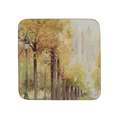 Creative Tops Central Park Set Of 6 Premium Coasters