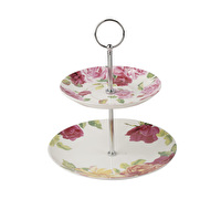 Kew Gardens Southbourne Rose Mini Cake Stand