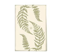 Kew Gardens Fern Tea Towel Green