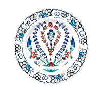 Victoria and Albert Iznik Hyacinth Side Plate