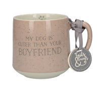 Creative Tops Tails & Treats My Dog Is Cuter Than Your Boyfriend Dog Mug