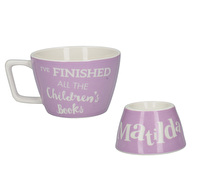 Roald Dahl Matilda 4Pc Stacking Breakfast Set