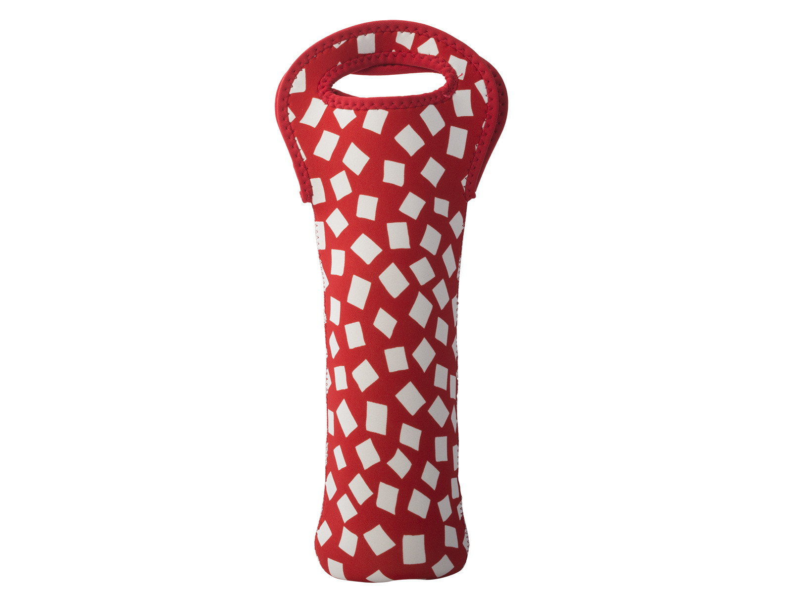 Built One Bottle Wine Tote Red Confetti