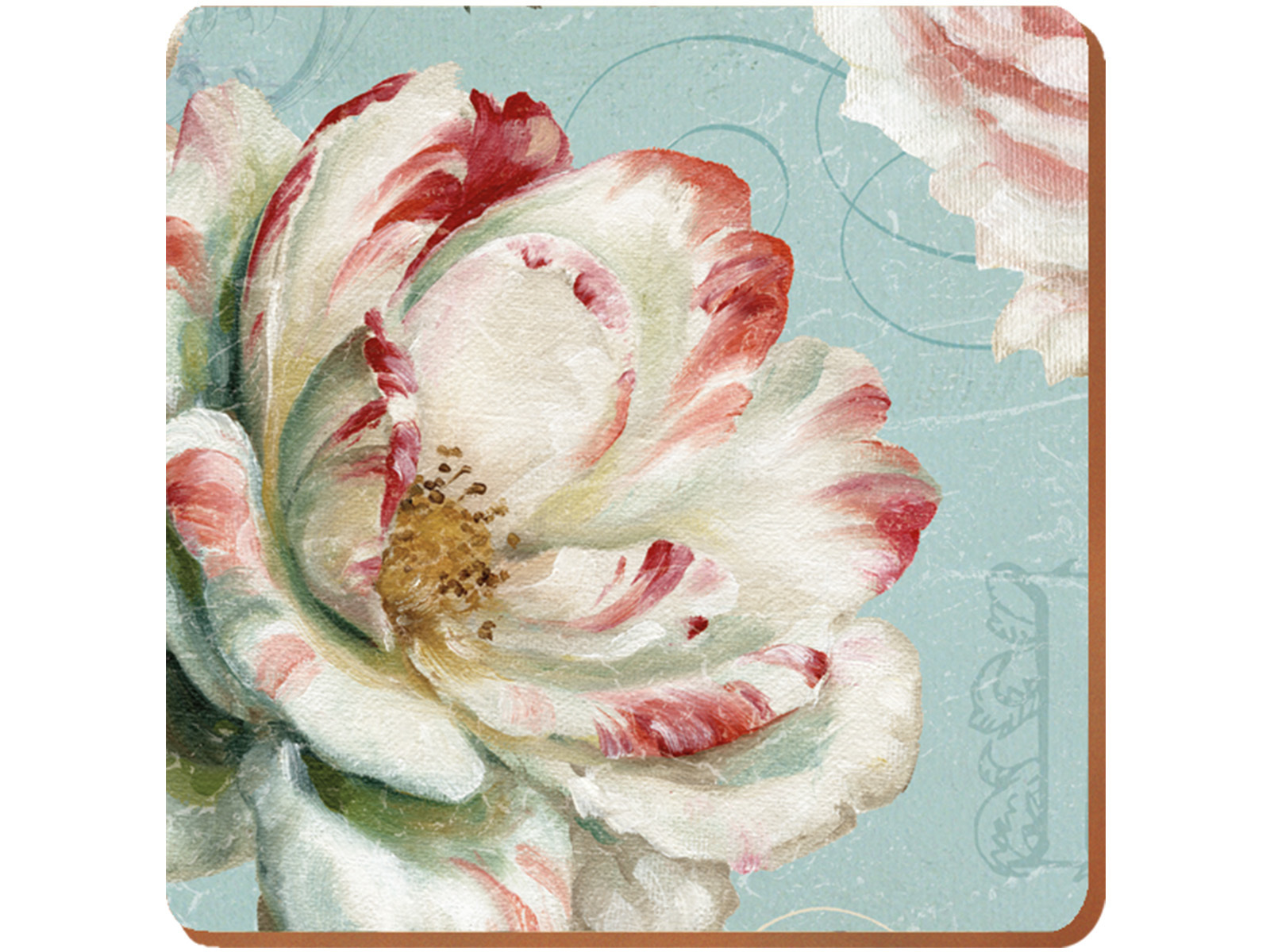 Creative Tops Romantic Garden Pack Of 6 Premium Coasters