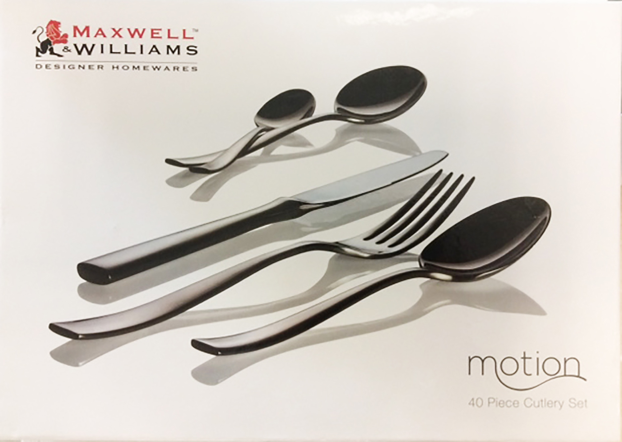 Maxwell & Williams Motion 40Pc Cutlery Set Gift Boxed