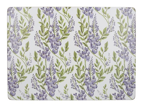 Creative Tops Wisteria Pack Of 4 Large Premium Placemats
