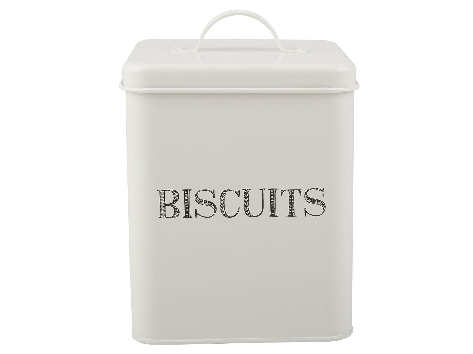 Creative Tops Stir It Up Biscuits Storage Tin White