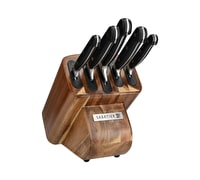 Sabatier Classic Edgekeeper Acacia 5pc Knife Block