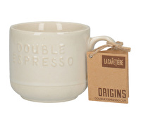 La Cafetiere Origins Embossed Double Espresso Cup