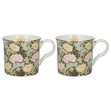 Victoria and Albert Chrysanthemum Set Of 2 Palace Mugs