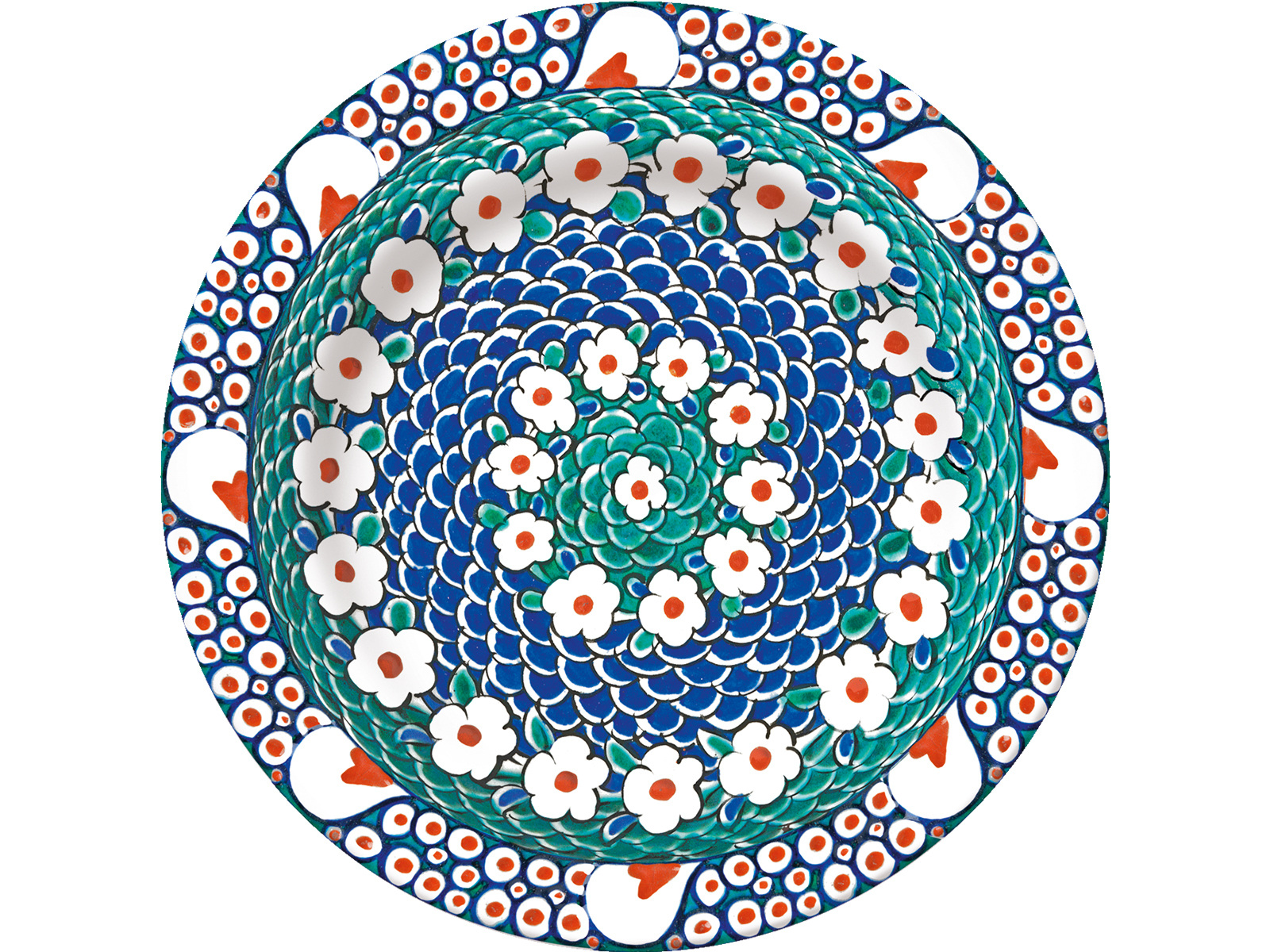 Victoria and Albert Iznik Petal Side Plate