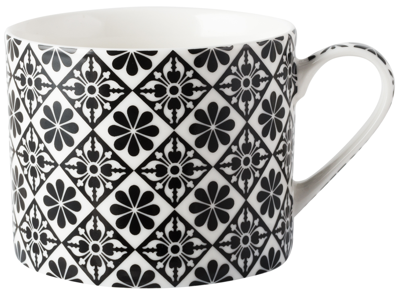 Victoria and Albert Petal Encaustic Tiles Mug
