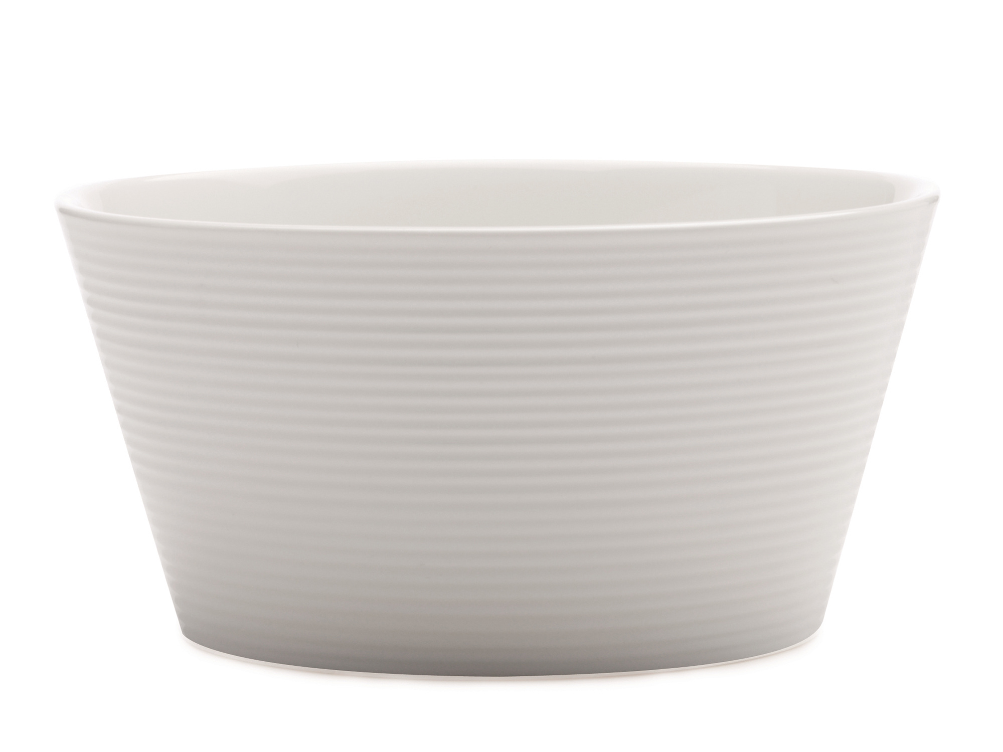 Casa Domani Casual White Evolve 10Cm Conical Bowl