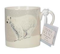 Creative Tops Snow Scenes Polar Bear Can Mug