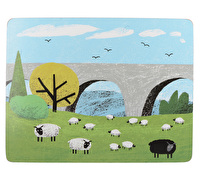 Creative Tops Woolly Mornings Pack Of 4 Large Premium Placemats