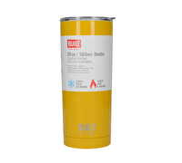 Built 20 Oz Double Wall Stainless Steel Water Tumbler Yellow