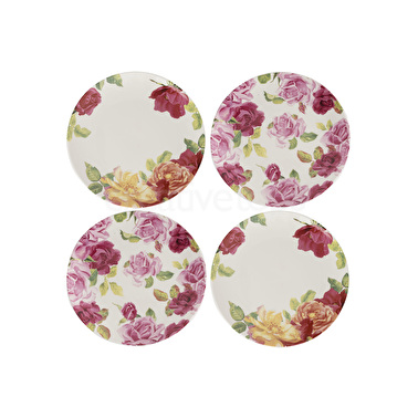 Kew Gardens Southbourne Rose Set Of 4 Side Plates