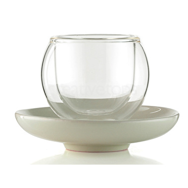 La Cafetiere Bola Small Cup And Saucer Without Handle