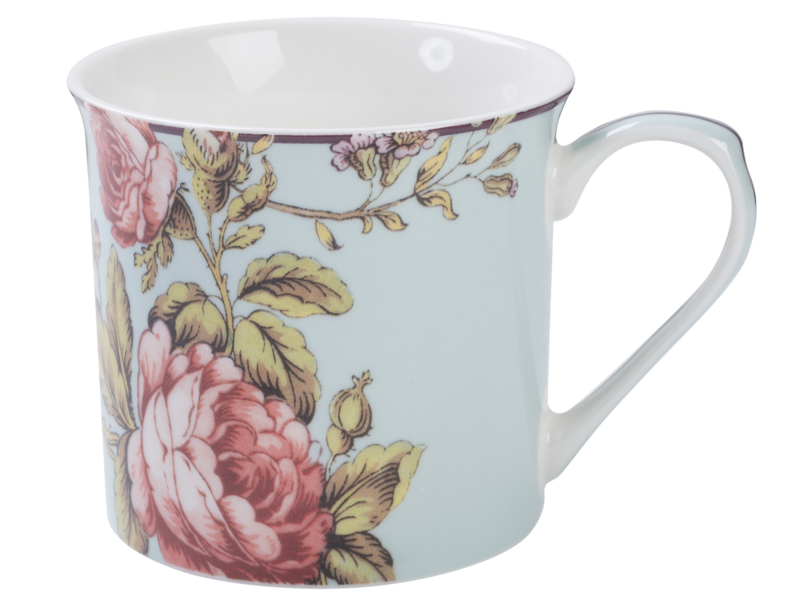 Victoria and Albert Toile Rose Chintz Palace Mug