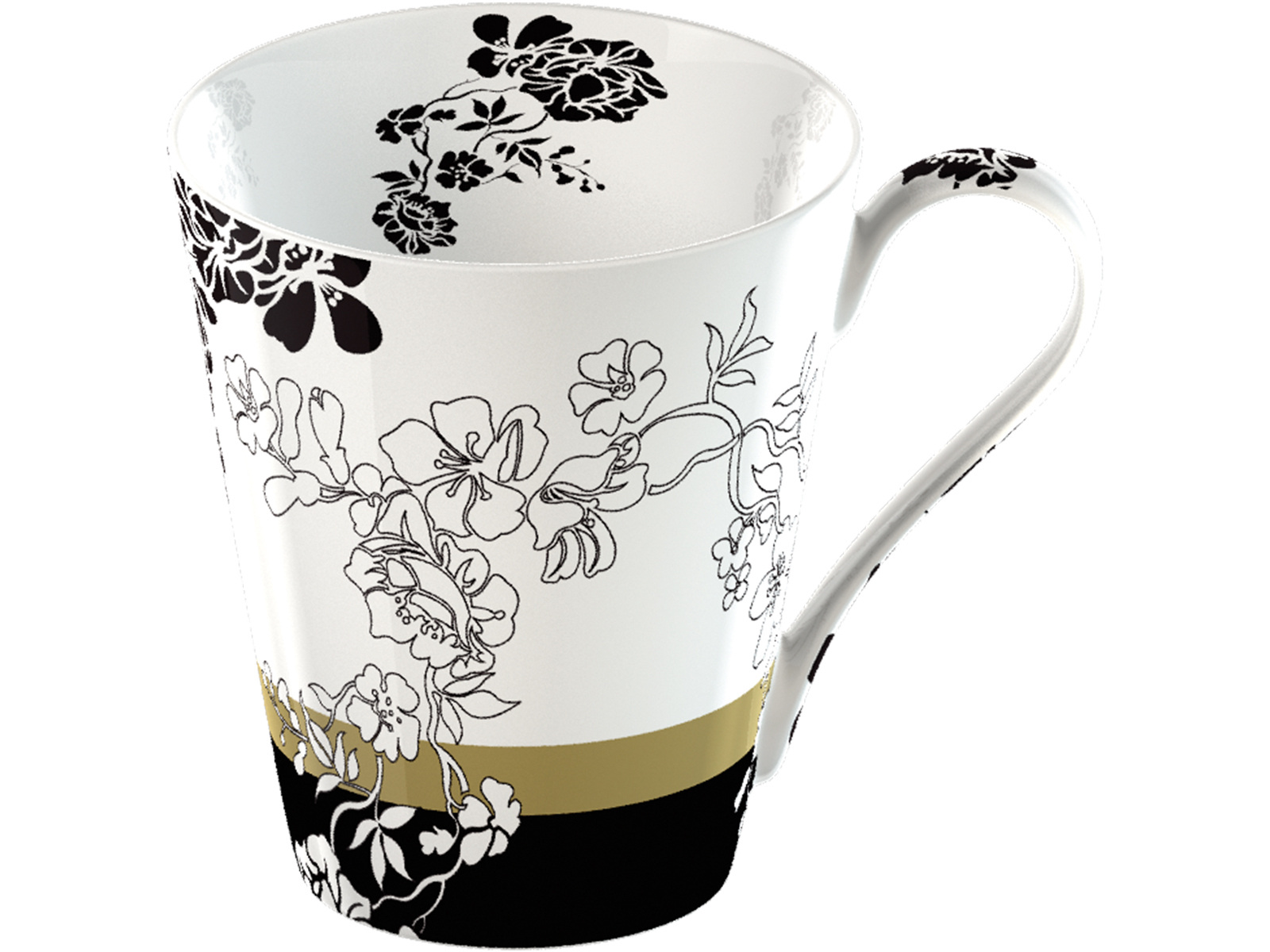 Victoria and Albert Brocade Mug In A Giftbox