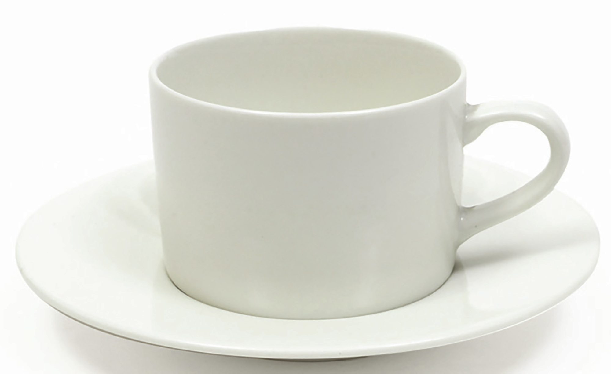 Maxwell & Williams White Basics 220Ml Straight Cup And Saucer